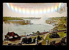 Glass Niagara Falls NY 1907 Postcard
