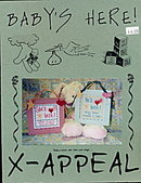 X-Appeal 'Baby's Here!' Cross Stitch Patterns