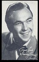1960s  Skinnay Ennis (Jazz Singer) Arcade Card
