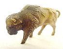 ca 1920s Viscaloid Celluloid  Buffalo Animal Toy