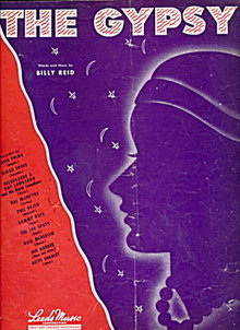 """The Gypsy"" 1946 Sheet Music"
