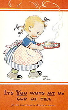 'If You Wots My Ol'...'  Mabel Lucie Attwell Postcard