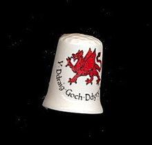 Crochendy Crafftaur Cantref Towyn Wales Celtic Thimble