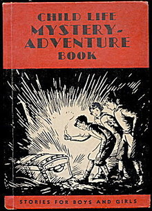 1936 Child Like Mystery-Adventure Book