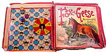 Early 1900s McLoughlin Bros 'Fox and Geese' Game