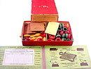 ca 1900 Carrom Deluxe Game inc Ten Pins