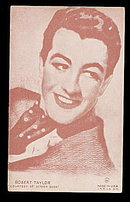 1940s Robert Taylor (Actor) Arcade Card