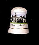Biltmore House, NC Porcelain Thimble