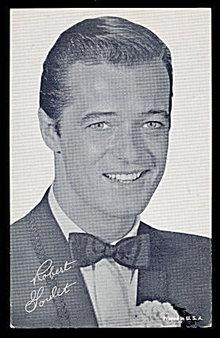 Robert Goulet (Actor) 1950s Arcade Card