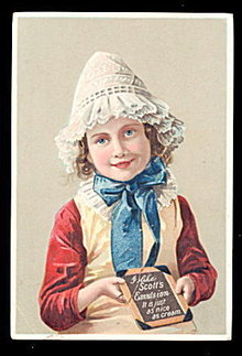 1880s Scott's Emulsion Girl (Medicine) Trade Card