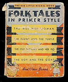 1935 'Folk Tales' Whitman Big Little Book