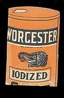 Die-cut Worcester Salt Needle Book