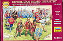 Zveda Republican Rome Infantry Plastic Soldiers