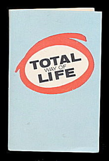 1950 'Total Way of Life' Insurance Needle Book - Sewing