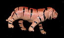 ca 1920s Japan Celluloid Tiger Animal Toy