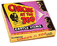 'Circus at the Zoo' 16mm Castle Film, Silent