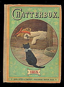 """1915 """"Chatterbox"""" Childrens Book"""