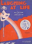 """1914 """"Laughing at Life"""" Sheet Music"""