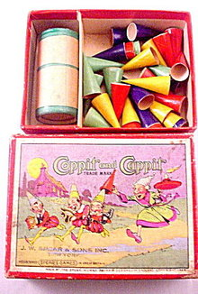 """1928 Spears """"Coppit & Cappit"""" Game"""