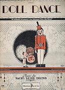 "1926 ""Doll Dance"" Sheet Music"
