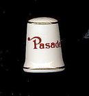"Vintage Roses ""Pasadena"" Porcelain Thimble"