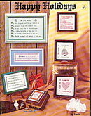 "1979 'Happy Holidays"" Vintage Cross Stitch Booklet"