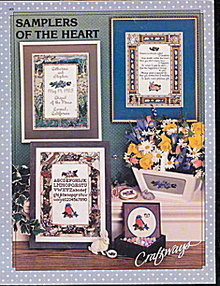 'Samplers of the Heart' Cross Stitch Pattern