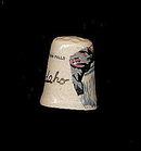 Vintage Twin Falls Idaho Porcelain Thimble
