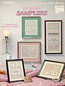 'Keepsake Samplers' Leisure Arts Cross Stitch Patterns