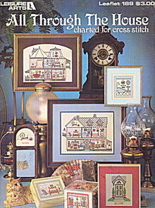 'All Through The Home' Cross Stitch Patterns