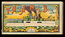 Early 1900s Army & Navy Needle Book #1