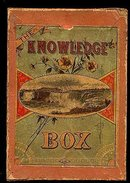 "1880s ""The Knowledge Box""  Game"