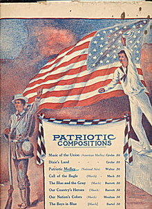 1909 Patriotic Compositions Sheet Music