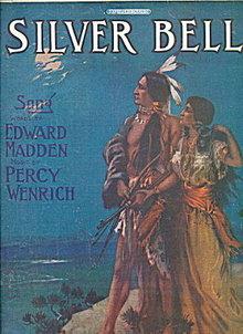 1905 'Silver Bell' Indian Maiden Sheet Music