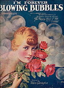 1918 'I'm Forever Blowing Bubbles' Sheet Music