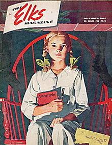 """The Elks"" Magazine December 1943"