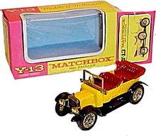 Matchbox Models of Yesteryear Y-13 1911 Daimler