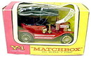 Matchbox Models of Yesteryear Y-1 1911 Model T Ford