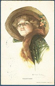 'Haughtiness' Philip Boileau Lady 1916 Postcard