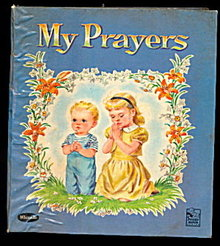 "1959 Whitman ""My Prayers"" Childrens Book"