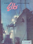 """""""The Elks"""" Magazine May 1942 War Edition"""