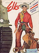 """The Elks"" Magazine November 1942 War Edition"