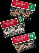3 1950s Shiny Brite Reindeer Mint in Pkgs