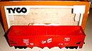 Tyco HO Scale CB&Q Hopper in Box