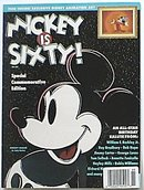 WD Mickey is Sixty! Sp Ed 1988 Mouse w Cell Magazine