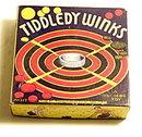 1930s Transogram 'Tiddely Winks' Game