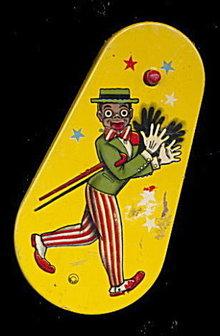 1920s Black Americana Tin Noise Maker