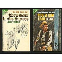 1966 Ride a Dim Trail/Showdown in the Cayuse