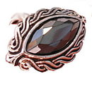 "AVON 1977 ""Shadow Play"" Hematite Ladies Ring"