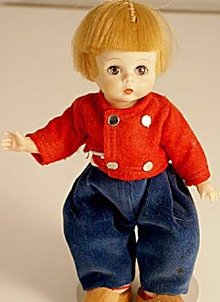 1960s Madame Alexander Dutch Netherland Boy Doll